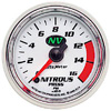 "Autometer NV Full Sweep Electric  Nitrous Pressure gauge 2 1/16"" (52.4mm)"