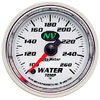 """Autometer NV Full Sweep Electric  Water Temperature gauge 2 1/16"""" (52.4mm)"""