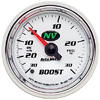 "Autometer NV Mechanical Boost / Vacuum gauge 2 1/16"" (52.4mm)"