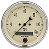 "Autometer Antique  Beige In-Dash Tachs & Speedos Speedometer Elec. Programmable Gauges  3 3/8"" (85.7mm)"