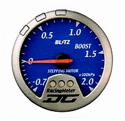 Blitz - Gauge - DC II Series 60mm Blue EGT Meter