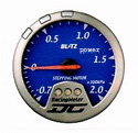 Blitz - Gauge - DC II Series 60mm Blue Speed/Power Meter