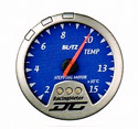 Blitz - Gauge - DC II Series 60mm Blue Temperature Meter