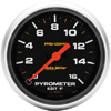 "Autometer 5453 Full Sweep Electric Pyrometer Gauge 2 5/8"" (66.7mm)"