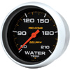 """Autometer Pro Comp Full Sweep Electric Water Temperature Low Temp Gauge 2 5/8"""" (66.7mm)"""