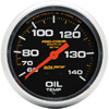 "Autometer Pro Comp Liquid Filled Mechanical Oil Temperature Gauge 2 5/8"" (66.7mm)"