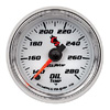 "Autometer C2 Full Sweep Electric Oil Temperature gauge 2 1/16"" (52.4mm)"