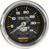 "Autometer Carbon Fiber Mechanical Boost gauge 2 1/16"" (52.4mm)"