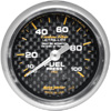 "Autometer Carbon Fiber Mechanical Fuel Pressure gauge 2 1/16"" (52.4mm)"