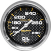 "Autometer Carbon Fiber Mechanical Oil Temperature gauge 2 5/8"" (66.7mm)"