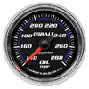 "Autometer Cobalt Full Sweep Electric Oil Temperature gauge 2 1/16"" (52.4mm)"
