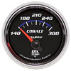 "Autometer Cobalt Short Sweep Electric Oil Temperature gauge 2 1/16"" (52.4mm)"