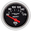 "Autometer Sport Comp Short Sweep Electric Oil Temperature Gauge 2 1/16"" (52.4mm)"
