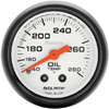 "Autometer Phantom Mechanical Oil Temperature gauge 2 1/16"" (52.4mm)"