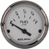 "Autometer American Platinum Short Sweep Electric Fuel Level Gauges  2 1/16"" (52.4mm)"
